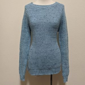 3for$20 blue sweater with soft glitter  medium